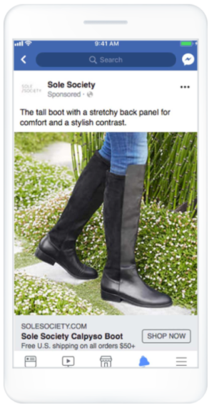 Facebookのフィード広告